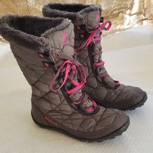 Columbia Girls Minx waterproof winter boots